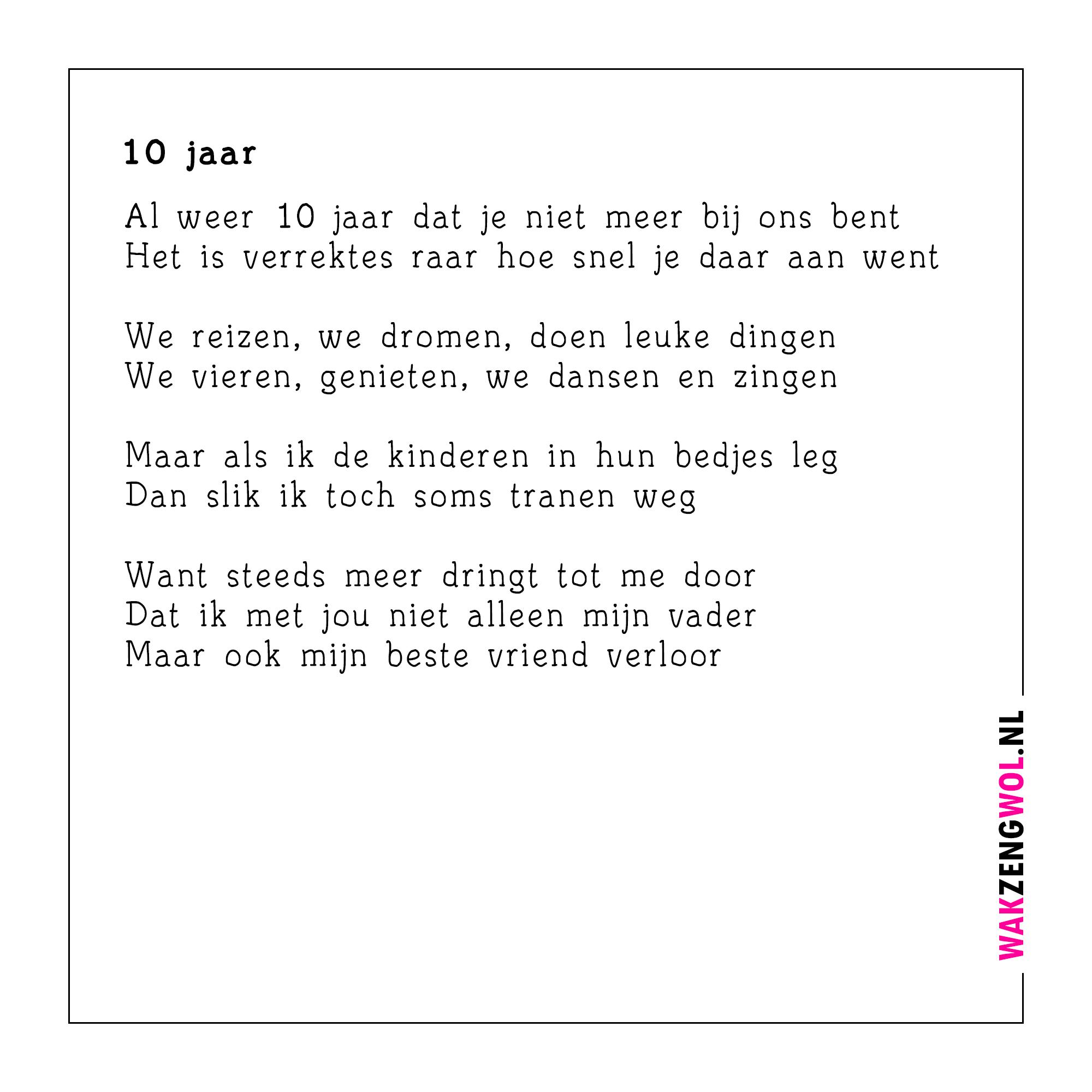 10 jarig jubileum gedicht Gedicht Voor 10 Jaar Getrouwd   ARCHIDEV 10 jarig jubileum gedicht